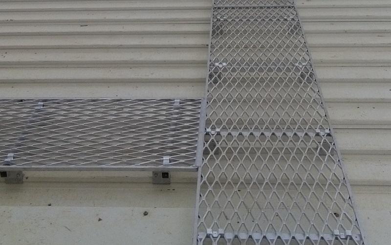 Roof Walkways Tee joint